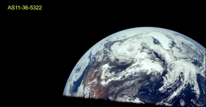 Non-composite images of the Earth from space