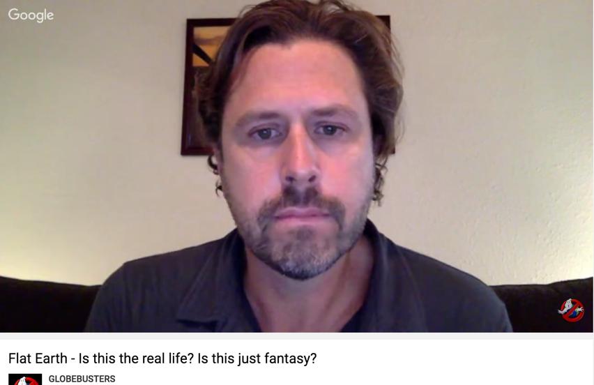 Awake Souls (Jason Laufenberg)   flat Earth advocate FAIL
